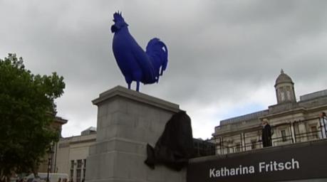 Galo de Trafalgar Square - Londres
