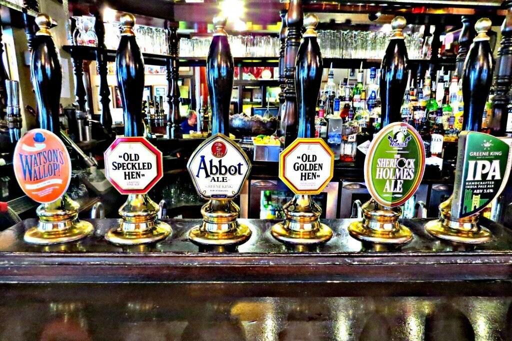 Sherlock Holmes Pub. Foto: Mapa de Londres