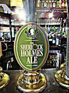 Sherlock Holmes Pub - Mapa de Londres