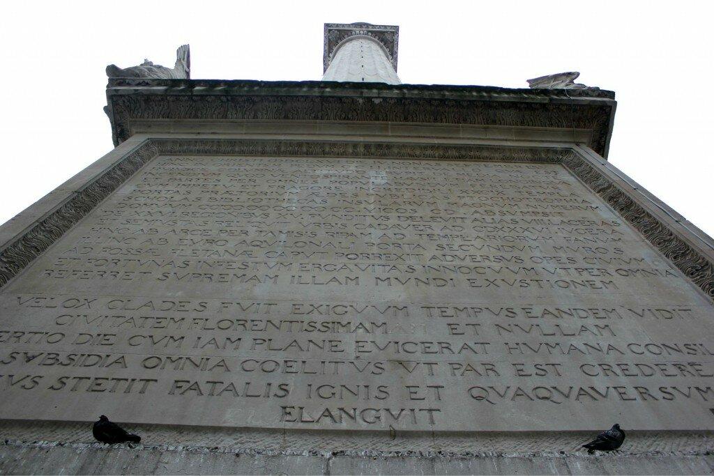 Em latim. Foto: Mapa de Londres
