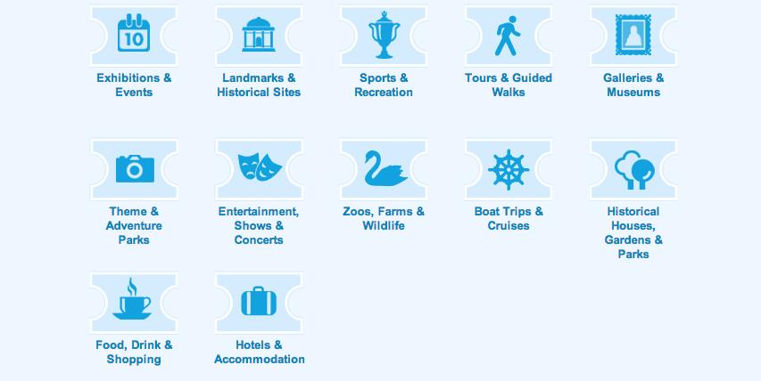 Passo 3: explore as atrações