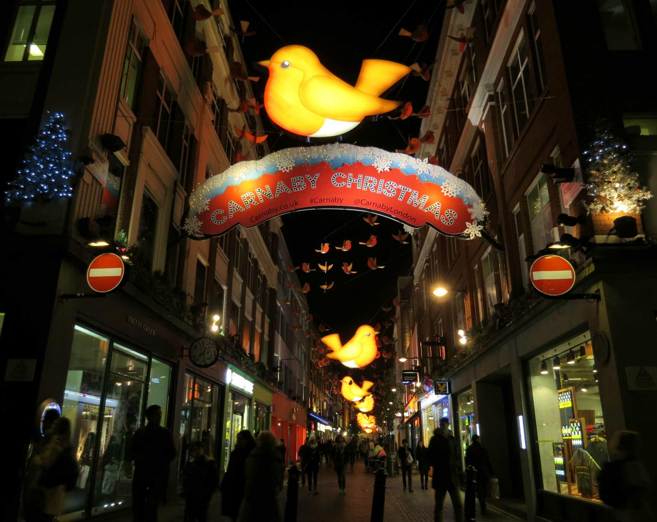 Lojas de Londres: Carnaby Street