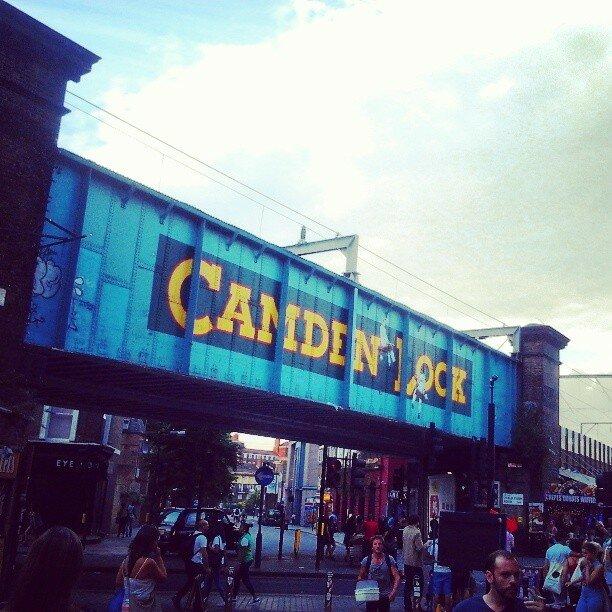 Camden Town. Foto: Arquivo pessoal