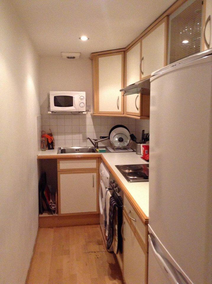 Cozinha pequena mas funcional. Foto: Arquivo Pessoal