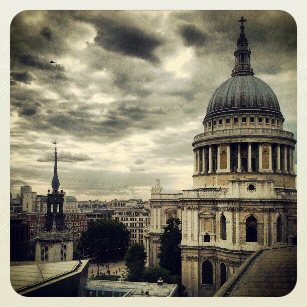 St Paul's Cathedral.  Foto: Arquivo pessoal