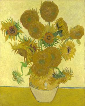 Girassóis - 1888, da coleção da National Gallery