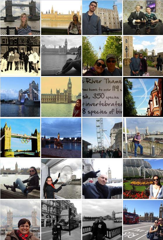 Álbum dos Leitores - Mapa de Londres