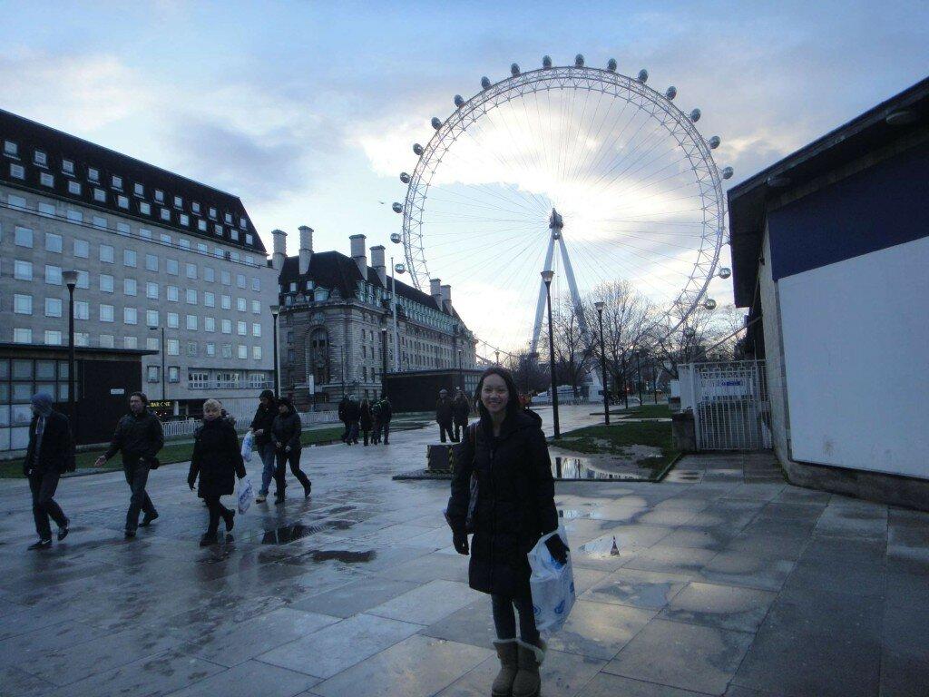 Caori Sakata - Mapa de Londres