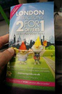 2 for 1 - Promoção 2 for 1 - Mapa de Londres