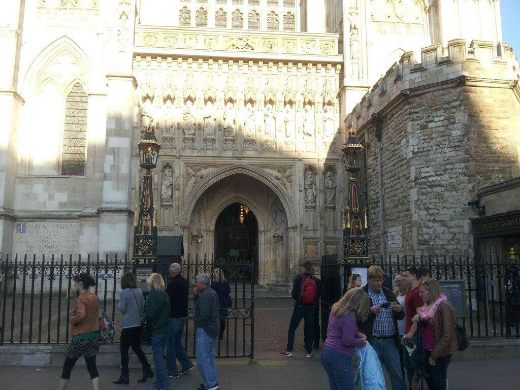 Abadia de Westminster - Mapa de Londres