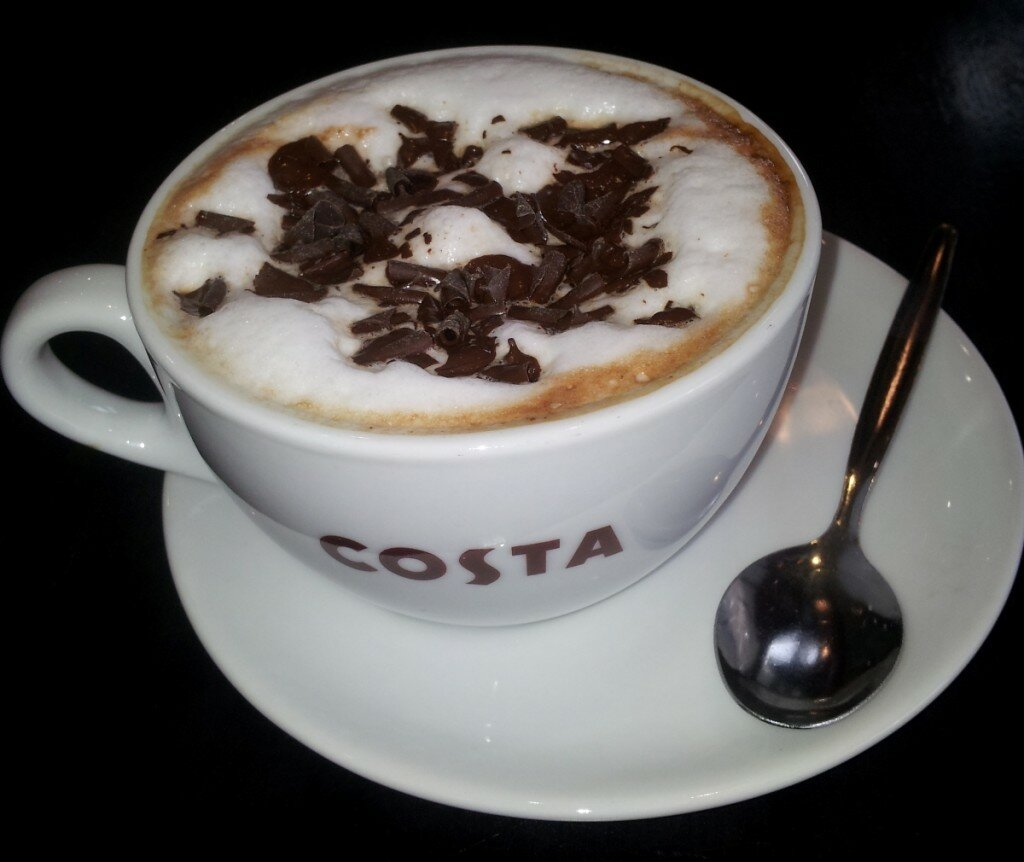 Costa Coffee - Mapa de Londres