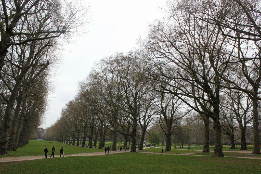 Green Park no outono