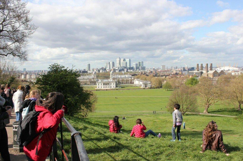 Greenwich na primavera