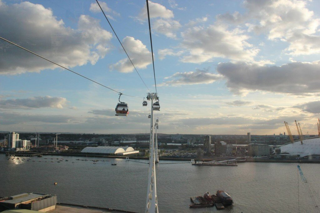 Teleférico de Londres - Emirates Air Line