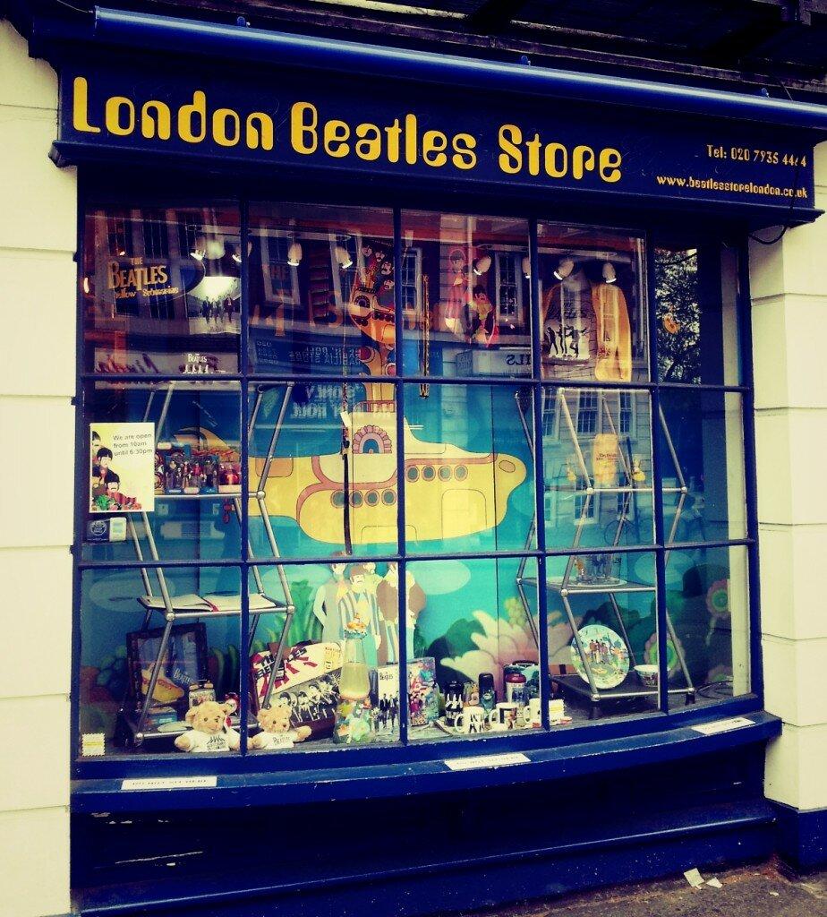Loja dos Beatles em Londres