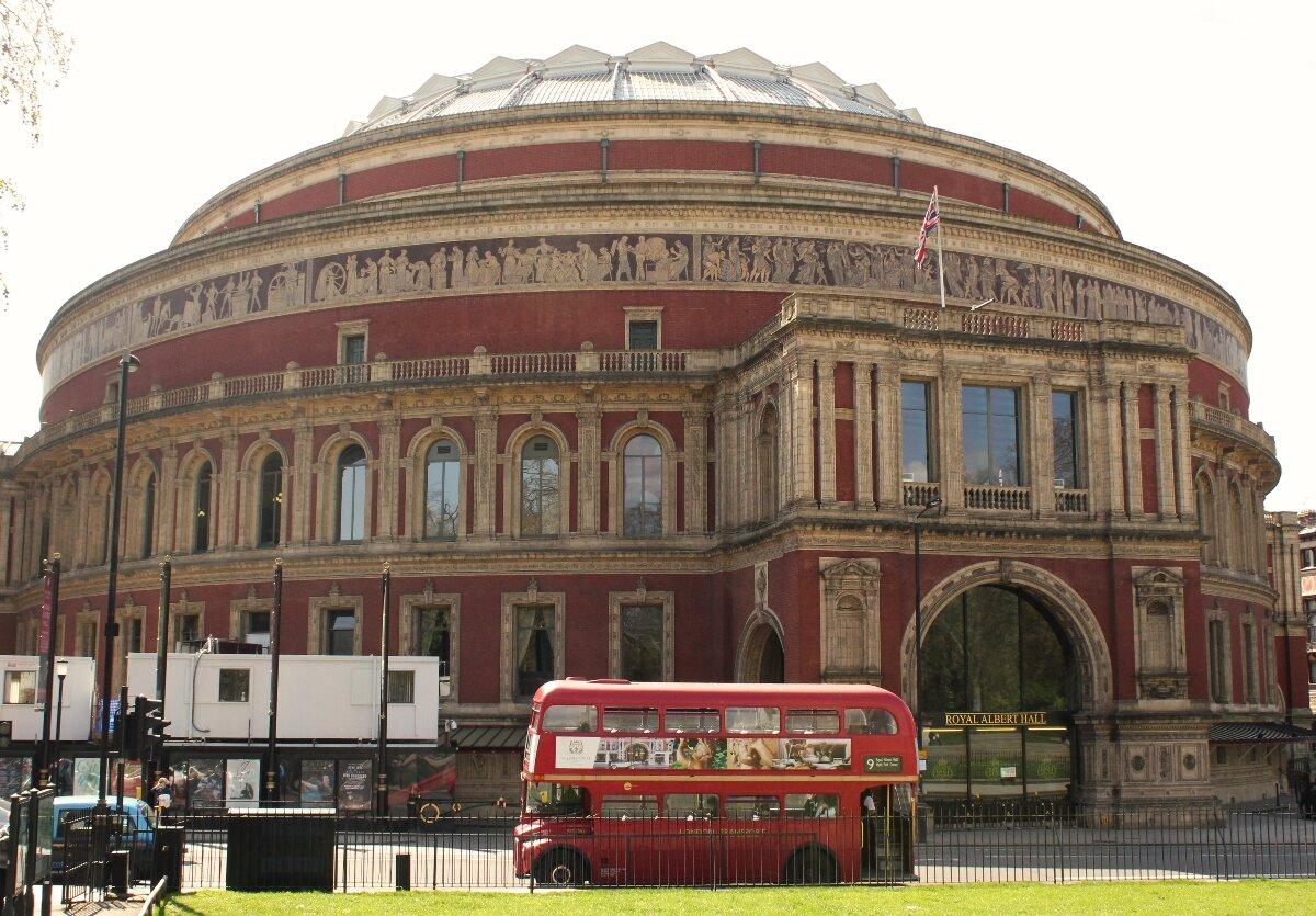 Royal Albert Hall - Mapa de Londres