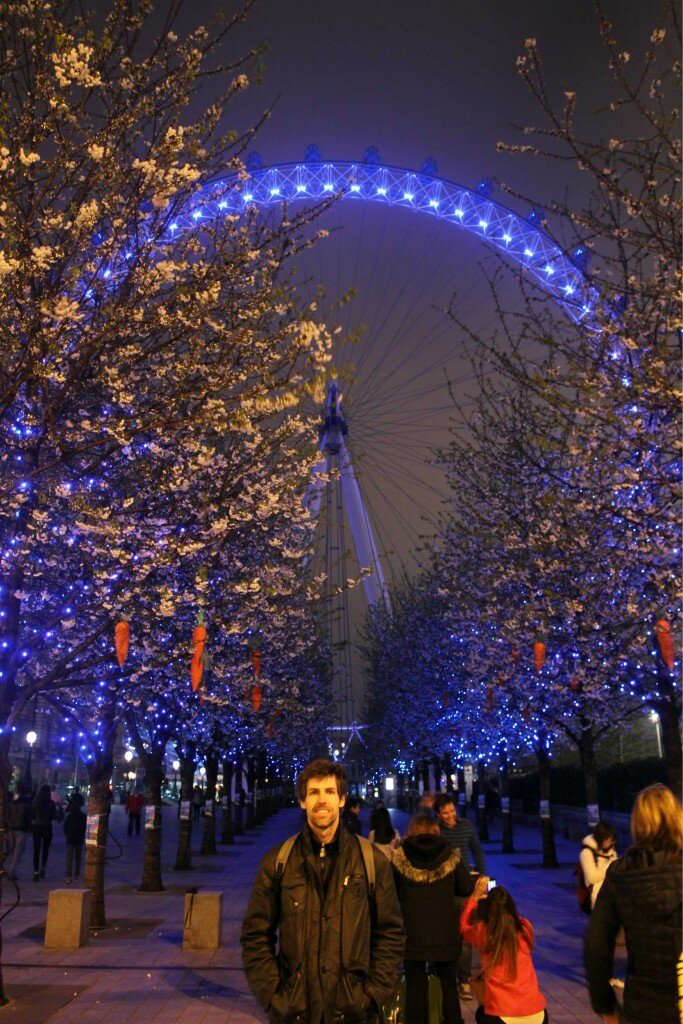 London Eye - Mapa de Londres