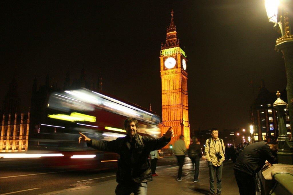 Big Ben - Westminster - Mapa de Londres