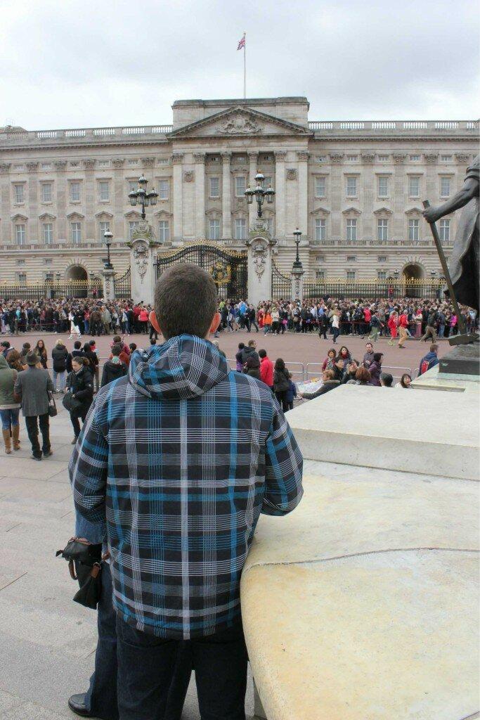 Palácio de Buckingham - Mapa de Londres
