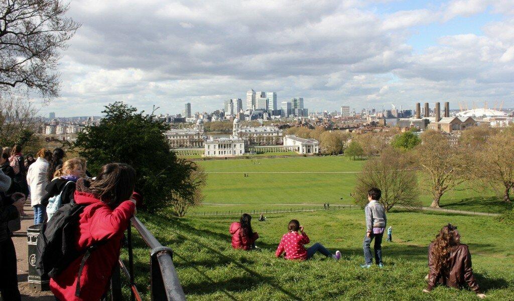 Greenwich - Mapa de Londres