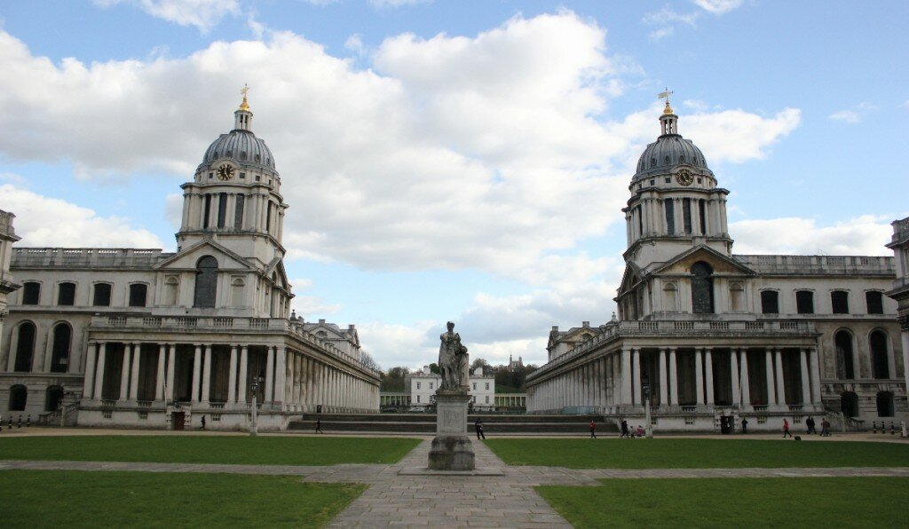 Royal Old Naval College - Mapa de Londres