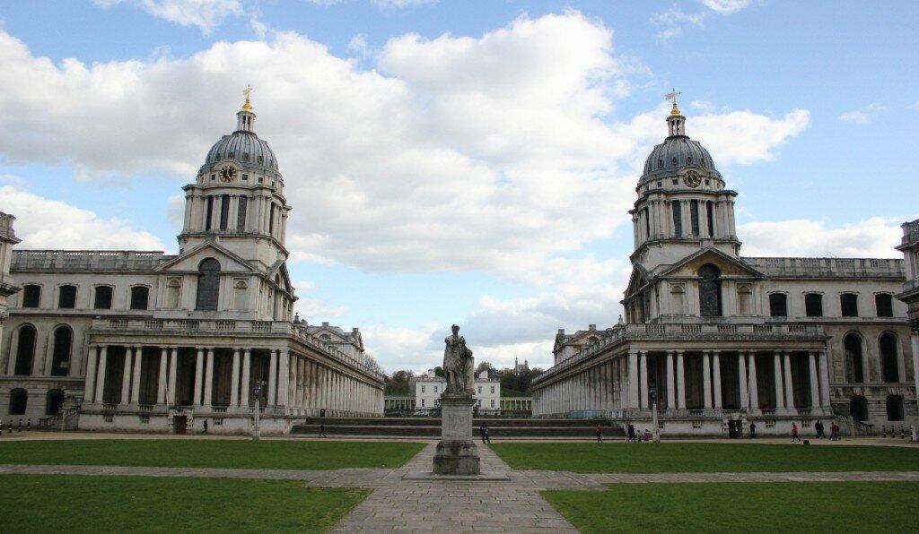 Royal Old Naval College - Mapa de Londres