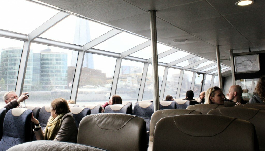 Barco em Londres - Westminster