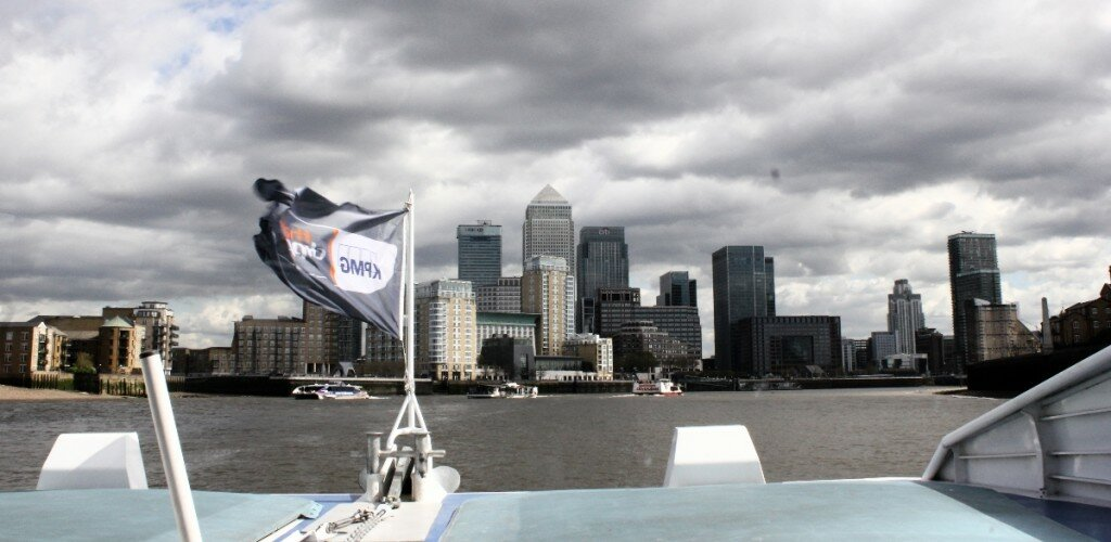 Sempre que puder, vá pela água. Foto: Mapa de Londres