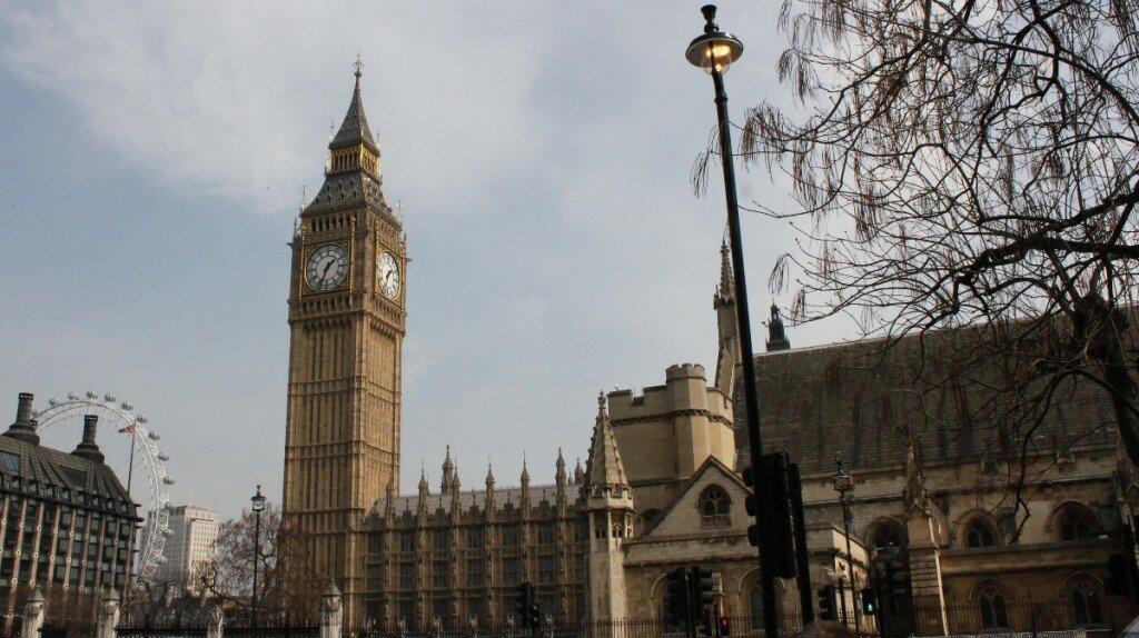 Big Ben - Palácio de Westminster - Mapa de Londres
