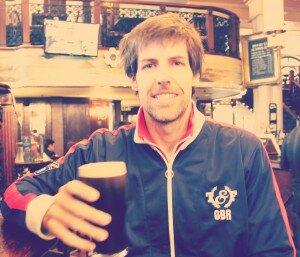 A primeira Guinness no retorno a Londres. Foto: Douglas Fröhlich, especial para o Mapa de Londres