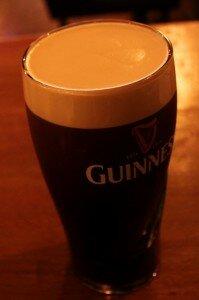 Cerveja Guinness - Mapa de Londres