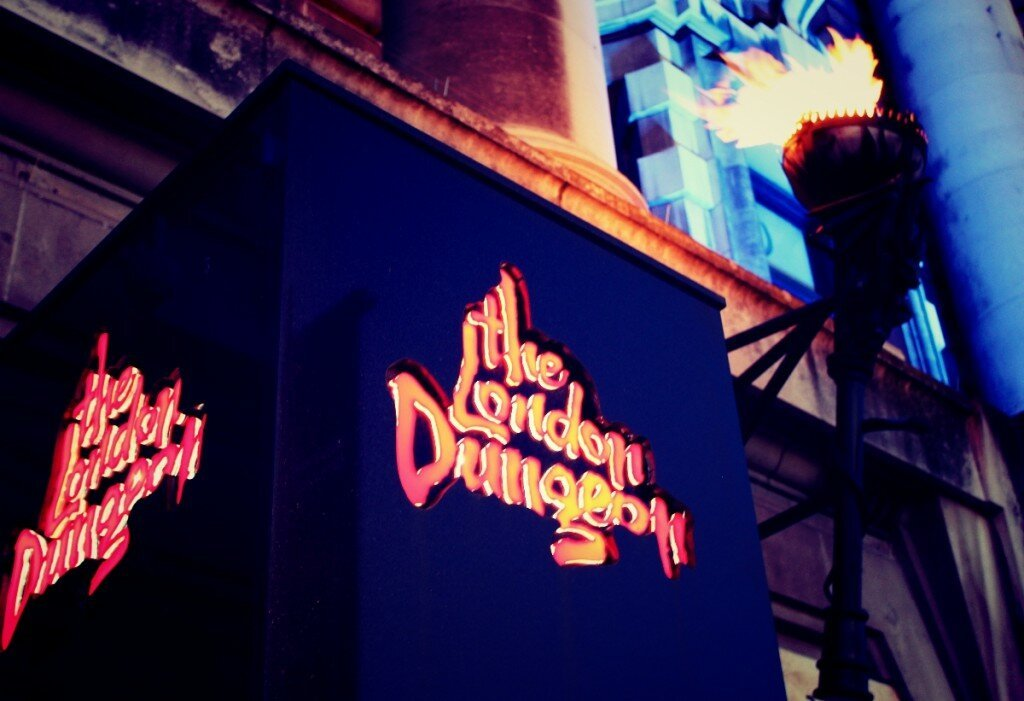 London Dungeon - Mapa de Londres