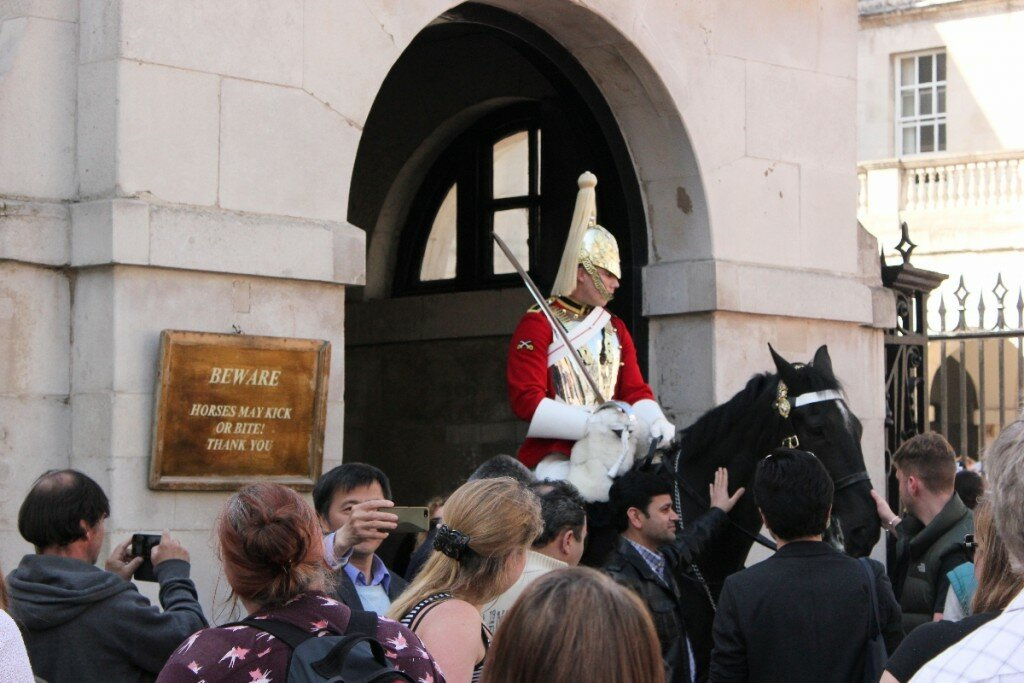 Horse Guards - Mapa de Londres