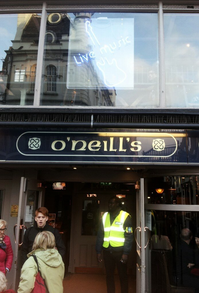 O'neils do Soho - Mapa de Londres