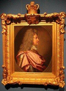George I da Grã-Bretanha e Irlanda, Eleitor de Hanôver. Pintura de Sir Godrey Kneller