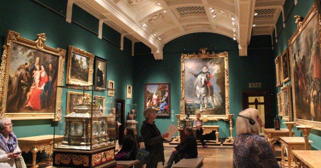 Queen's Gallery - Mapa de Londres