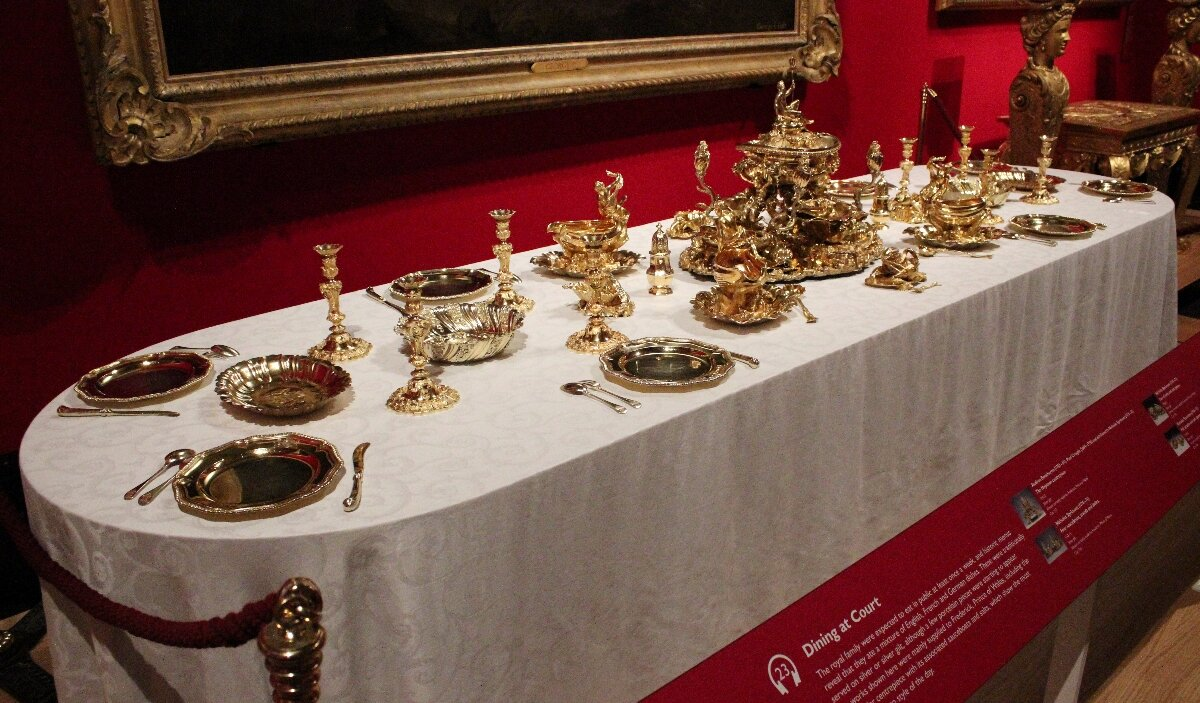 Queen's Gallery - Mapa de Londres