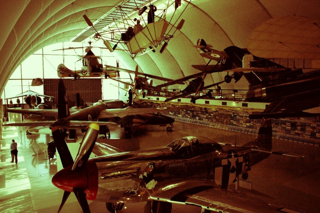 Royal Air Force Museum - Mapa de Londres