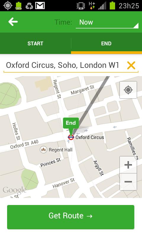 Citymapper - Mapa de Londres