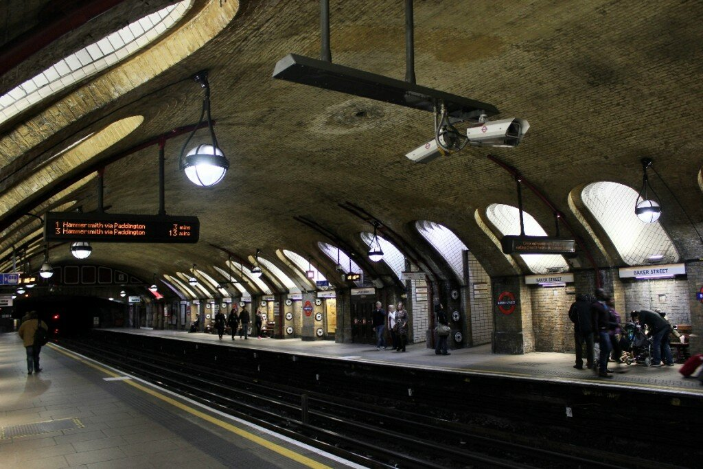 Metrô de Londres - Mapa de Londres