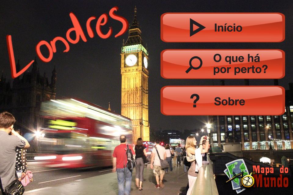 App do Mapa de Londres