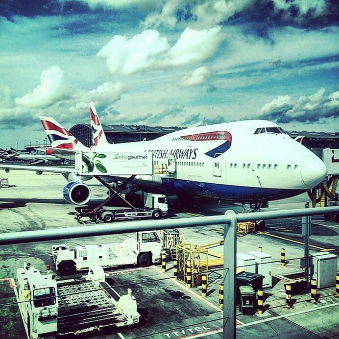 Aeroporto de Heathrow - Mapa de Londres