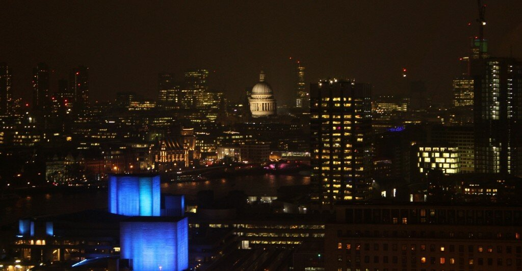 St Paul's Cathedral a partir da London Eye