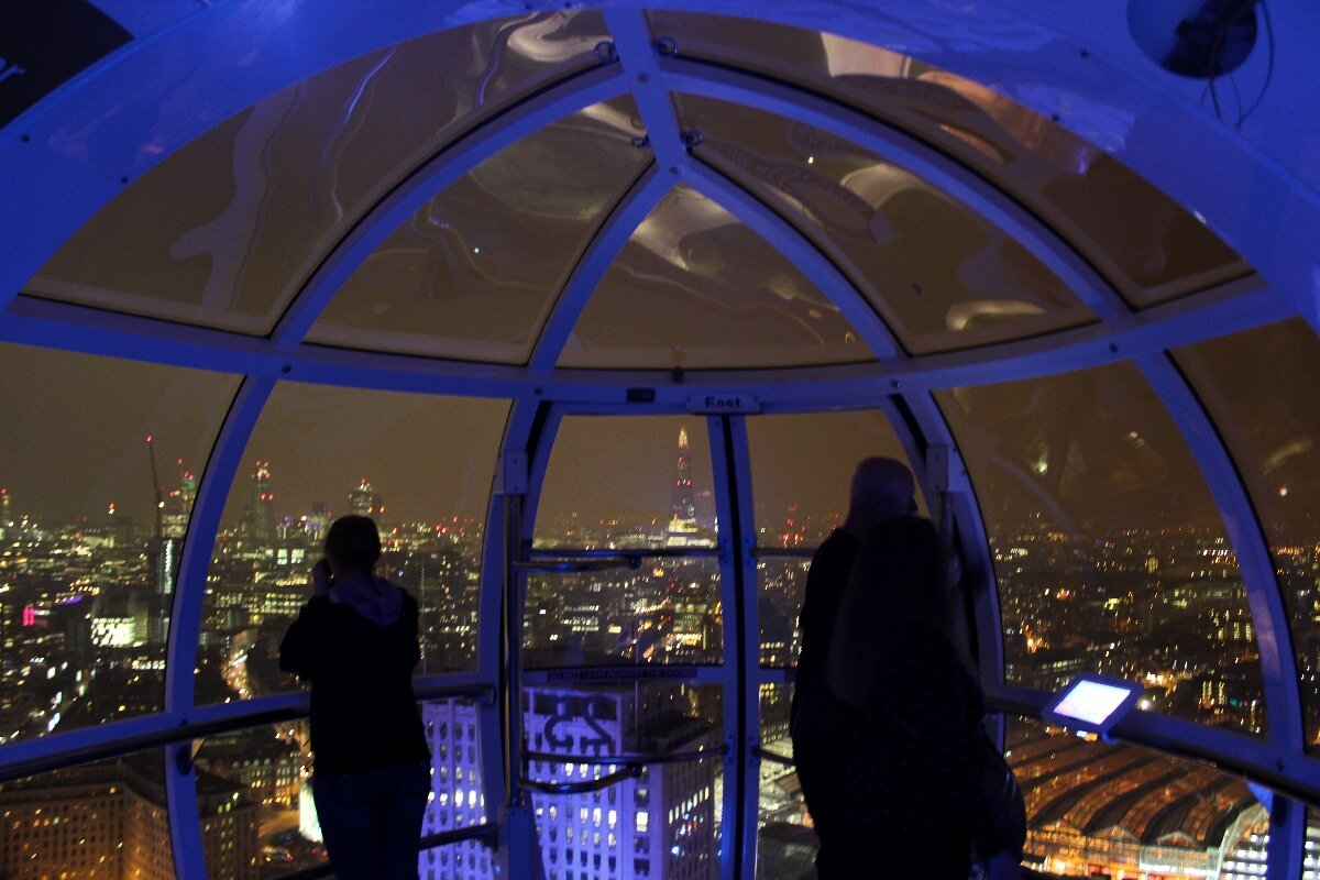 London Eye à noite