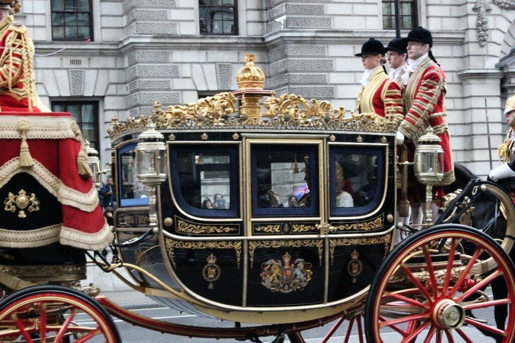 Abertura do Parlamento - Mapa de Londres