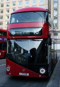 Routemaster novo - Mapa de Londres