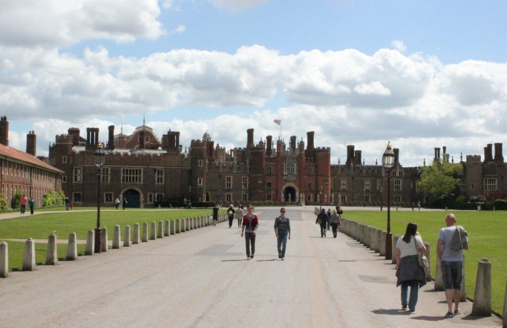 Hampton Court Palace - Mapa de Londres
