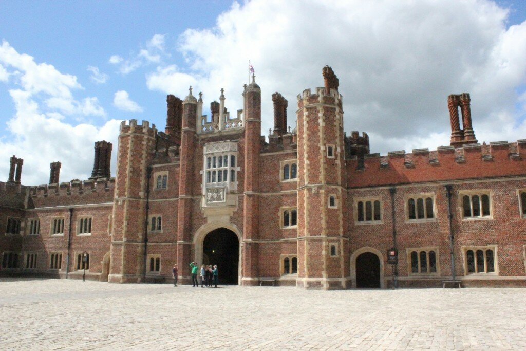 Hampton Court Palace - Mapa de Londres