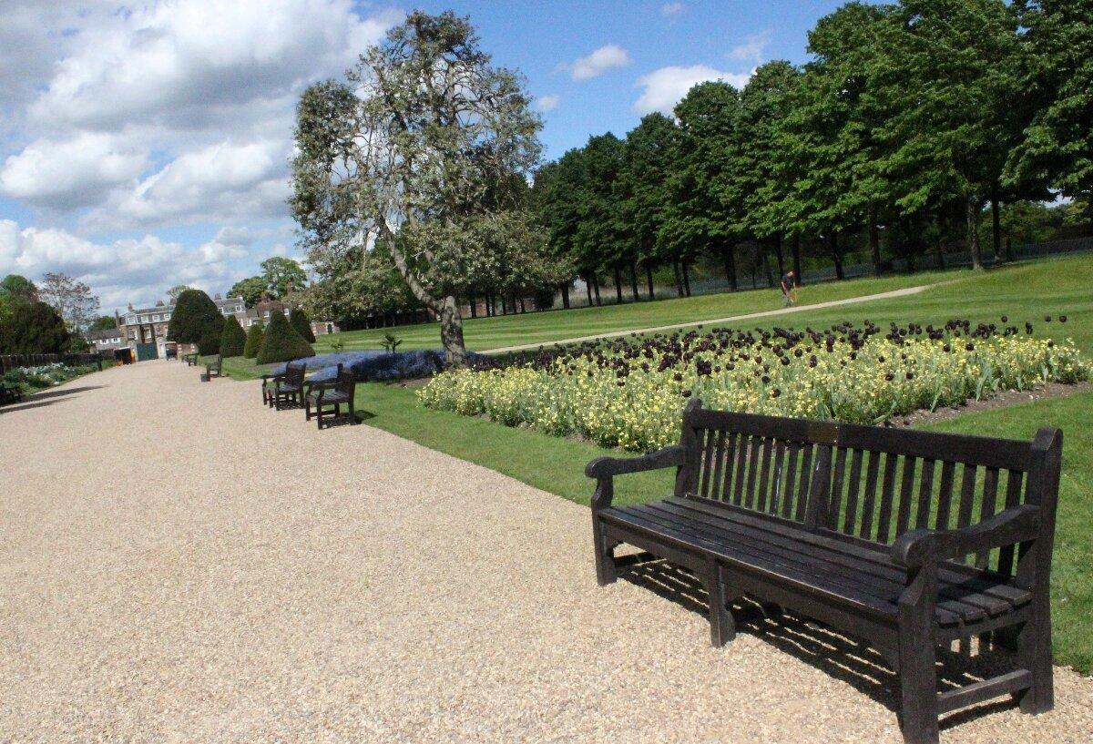Jardins do Hampton Court Palace - Mapa de Londres