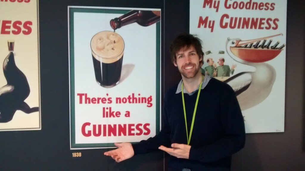 Guinness Storehouse - Mapa de Londres